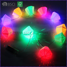 led light chinese lantern paper lampshades for home