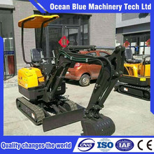 Japan technology mini garden excavator with CE certificates