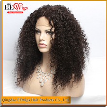 Top selling brazilian human hair full lace wig crochet braids with human hair