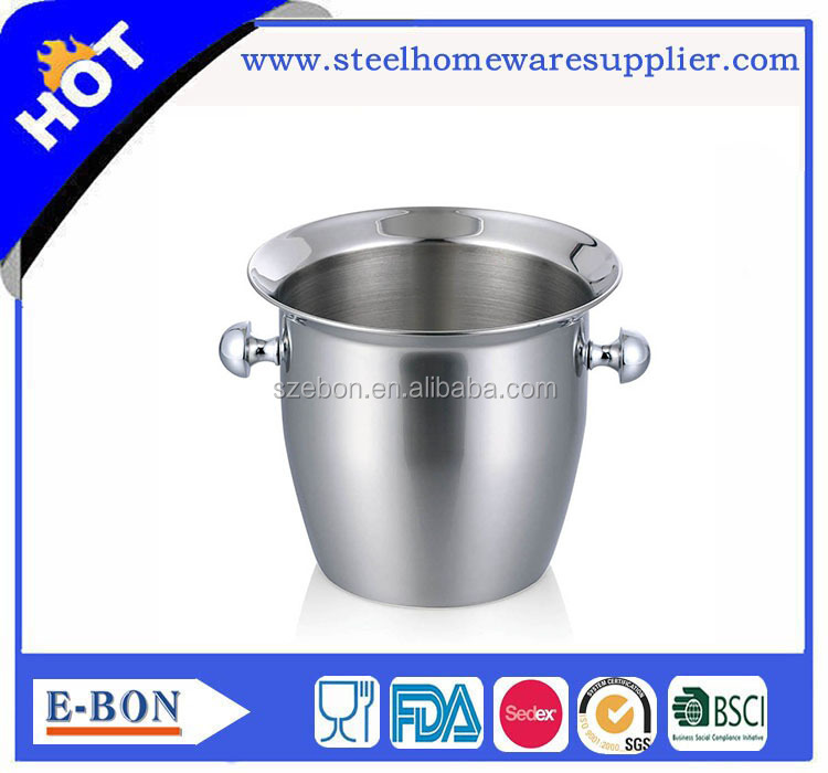 Stainless steel Wine Party Drink Tub Ice Bucket