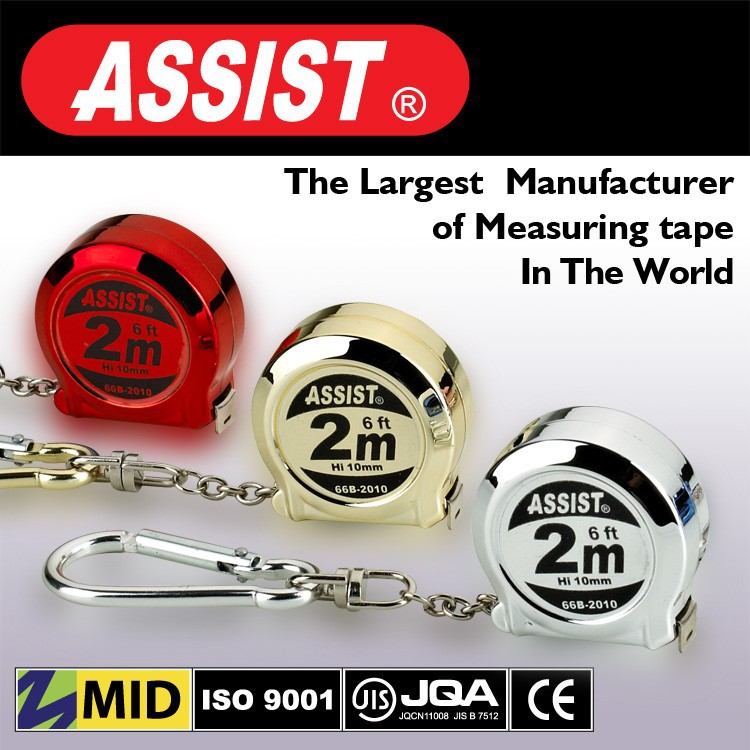 Assist power tools special gift item measure tape in handicrafts