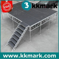used portable staging/mobile stage for sale/used mobile stage