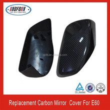 Wing mirror cover carbon fiber side mirror covers for bmw e60 full replacement