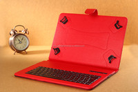 bluetooth keyboard tablet pc leather case 7 inch