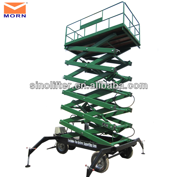 8m mobile scissor lift/lifting device