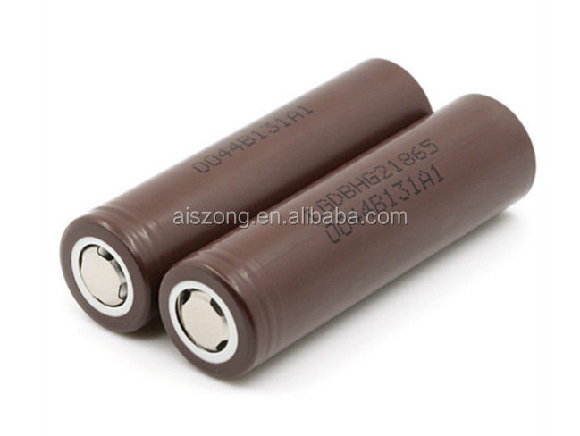 100%original LG HG2 18650 3000mah 20Amps 3.7V Rechargeable battery 18650 battery