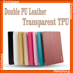 PU leather with soft tpu cover tablet protective case for ipad mini