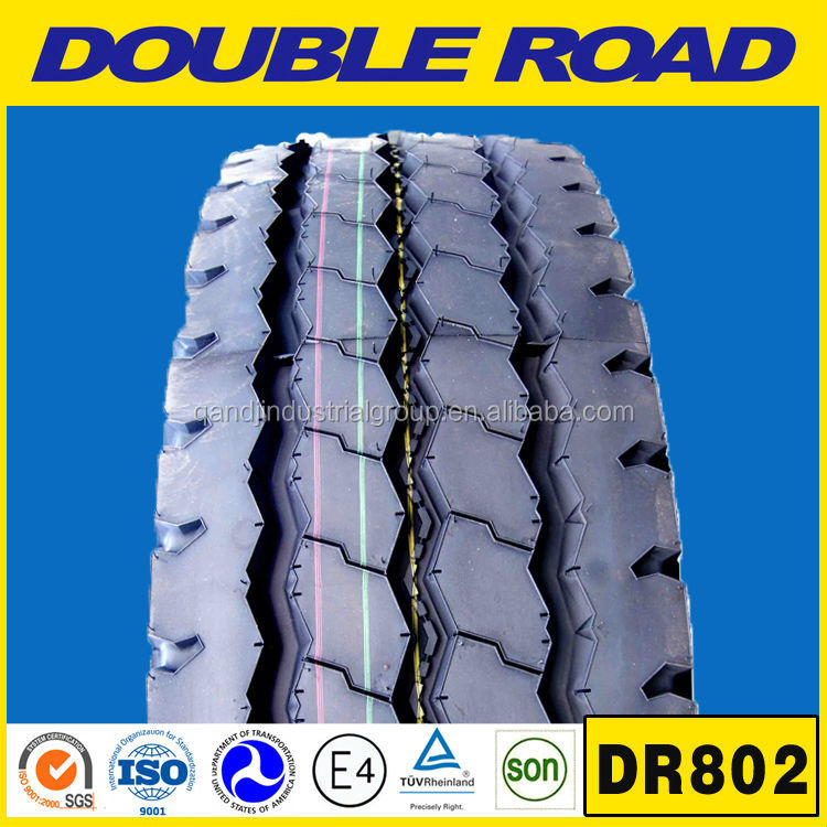 DOUBLE ROAD radial truck tyres, 900R20 1200R20 truck tires