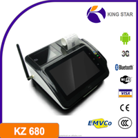 Touch screen gprs android pos terminal ethernet