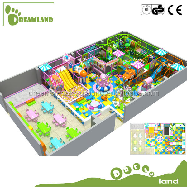 Large jungle indoor playground Venta de juegos infantiles para