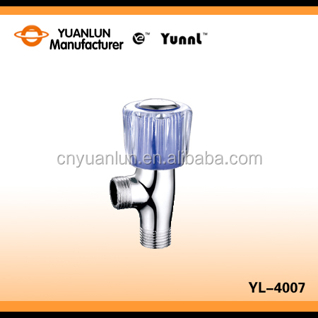 Faucet Accessories Chrome Brass Angle Water Valve