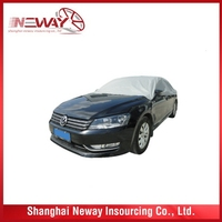 Factory top quality outdoor padded car covers