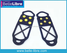 Ice Snow Traction Anti Slip Grips for All Shoes on Ice, Snow and Slippery Surfaces