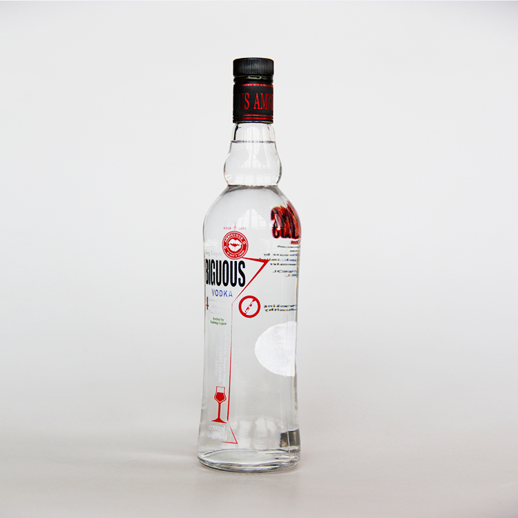 Hot sales bottle vodka liquor manufacturer with ISO FDA QS