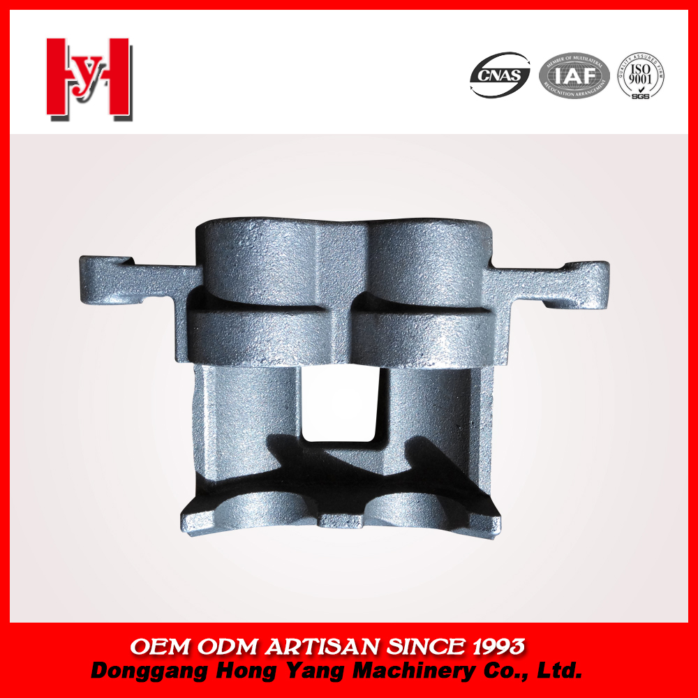Customized truck brake calipers from China casting foundry