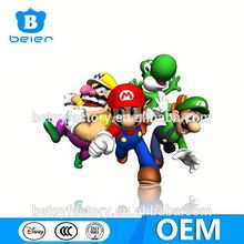 Customize mario bros figure toy, pvc mario bros figurine, OEM plastic toys factory