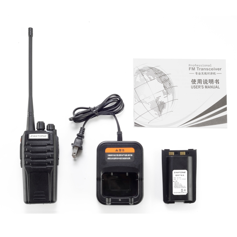 2016 Hot Sell ZASTONE ZT-A9 UHF400-470 or VHF136-174MHz mono band 10W woki toki