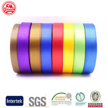 Durable Decorative Multi-Color Choice Double Faced Polyester Satin Ribbon For Gift Wrapping Packing $ 1 for Customized Sample