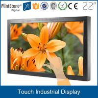 wholesale 22 inch rca video input touch screen optional lcd cctv monitor