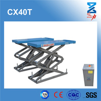 Vehicle scissor lift car with CE 4000KG