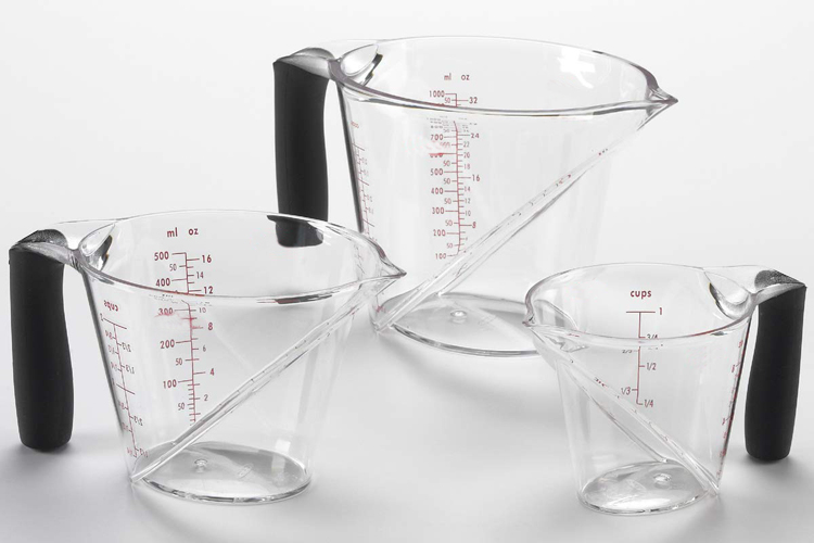 Kitchen Utensils Measuring Tools 250ml/500ml Plastic Measuring Cup Jug with Handle