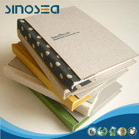 china supplier uncoated laminated grey book binding chip card board
