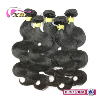 Natural color unprocessed wholesale Brazilian vrigin hair extension
