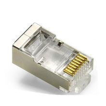 Factory sell cat5e shield RJ45 connector