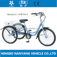 "24"" Steel Man Power tricycle for disabled"