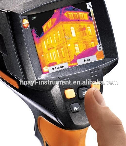 Testo 875-1i Thermal Imaging Camera for taking comparable visible light images