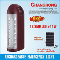rechargeable portable led table lantern with 11W fluorescent
