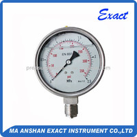 All stainless steel high quality pressure gauges