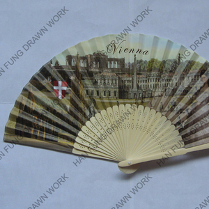 hot sell paper promotional hand held fan