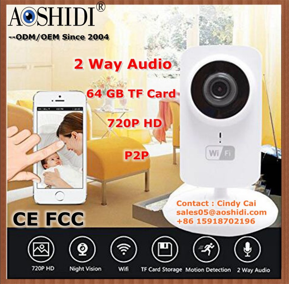 WIFI 720P Smart IP Camera Plug and Play Wifi IP Camera for Home Use