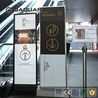 Transparent acrylic wayfinding signage / lucite logo display / perspex directory signs