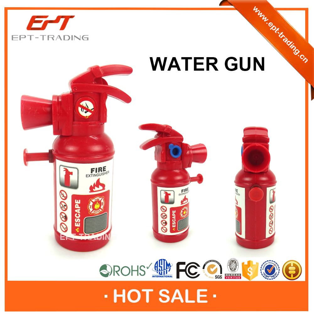 Promotional mini water gun toy fire extinguisher water gun