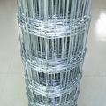 Hot dipped galvanized field fence for residential perimeter fence