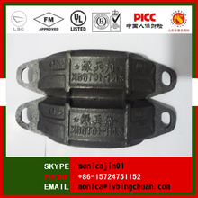 Ductile Iron Groove Pipe Fitting Grooved quick rubber Couplings High Pressure Grooved Coupling