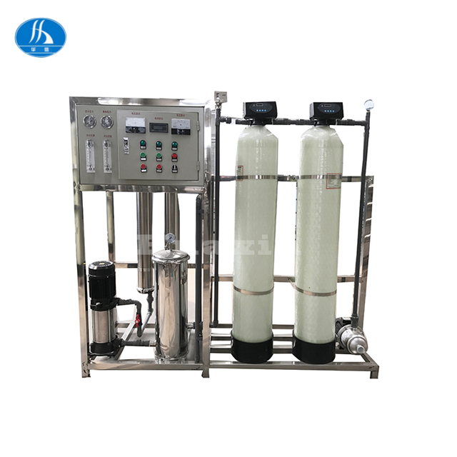 Lon exchange column for industrial / ion exchange equipment with water treatment system