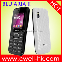 celular blu 1.8 Inch Screen Dual SIM Card FM Radio 800mAh battery blu mobile phone ARIA II T179