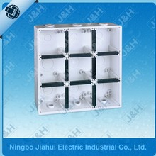 Austrlian waterproof box enclosure base, IP66 wall mount plastic enclosure 56E9, 56series electronic plastic enclosures back box