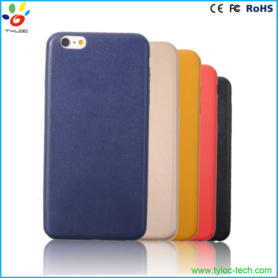 Genuine Original PU Leather Soft Back Cover Case For Apple iPhone 5/6/6s Plus