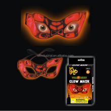 Light Up Glow Neon El Mask for Halloween Cosplay Fashion Dance Party glow mask face glow mask for party