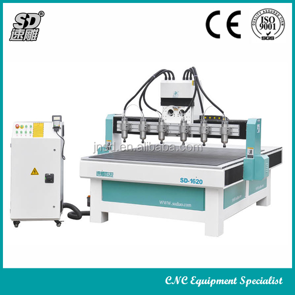 High Performance 3Axis Woodworking CNC Router Machine for Sofa wooden Flower furniture Carving