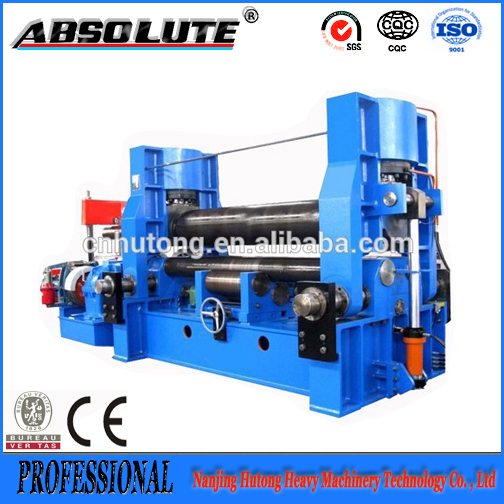 W11-6x2500 3 Roller Tube Bender, Mechanical Universal Rolling Machine