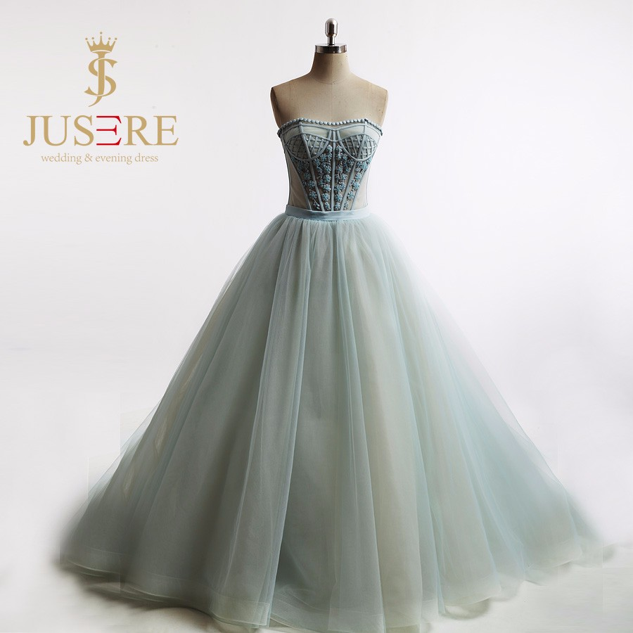 Strapless Sexy Corset Ball Gown Mint Green Prom Dresses Long Princess Off the Shoulder 2016