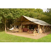 Canvas luxury camping serengeti safari house tent