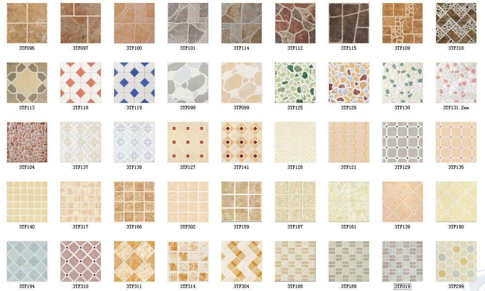 Types of ceramic tile flooring