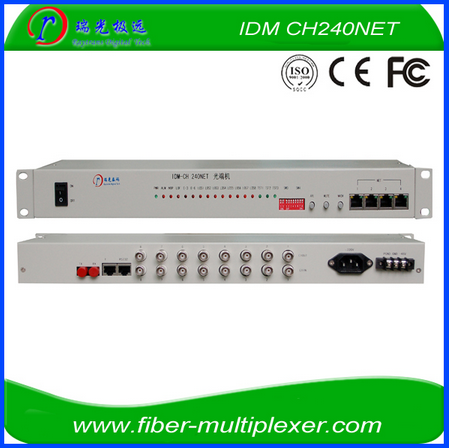 8E1 over fiber optical multiplexer/ PDH/ equipment fiber optical multiplexer 8E1 FOM