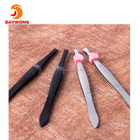 Precision Slant Tip Professional Eyebrows Expert Brow Shaping Tweezer Perfect Grip Non-slip Tweezer